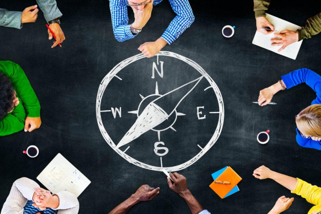 orientierung, teamentwicklung, teamzusammenführung